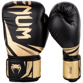 Challenger 3.0 Boxing Gloves - Black/Gold