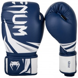 Challenger 3.0 Boxing Gloves -Navy Blue/White
