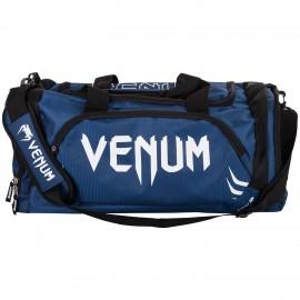 Trainer Lite Sports Bag - Navy Blue/White