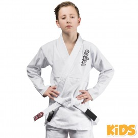 Contender Kids BJJ Gi - White (White belt included)