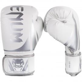 Challenger 2.0 Boxing Gloves - White/Silver