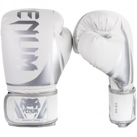 Challenger 2.0 Boxing Gloves - White/Silver