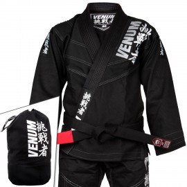 Challenger 4.0 BJJ GI - (Bag Included) - Black