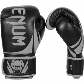 Challenger 2.0 Boxing Gloves - Black/Grey