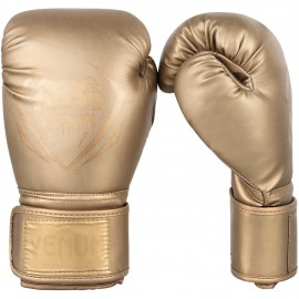 Contender Boxing Gloves - Gold/Gold