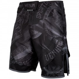 Gladiator Fightshorts - Black/Black