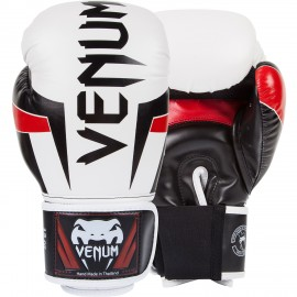 Elite Boxing Gloves - White