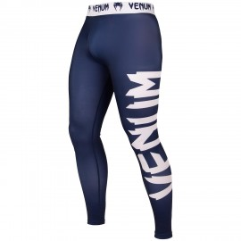 Giant Spats - Navy Blue/White