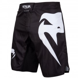 Light 3.0 Fightshorts - Black/White