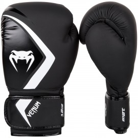 Contender 2.0 Boxing Gloves - Black/White