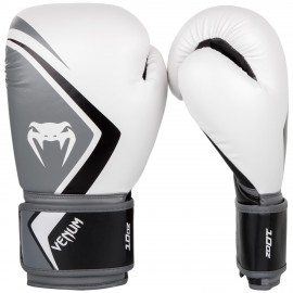 Contender 2.0 Boxing Gloves - White/Grey-Black