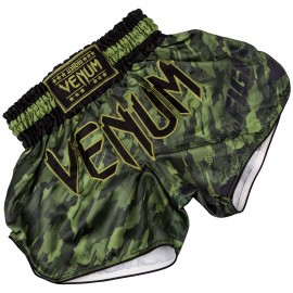 Tecmo Muay Thai Shorts - Khaki Green