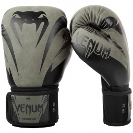Impact Boxing Gloves - Khaki/Black