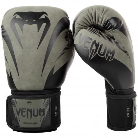 Impact Boxing Gloves - Khaki/Black
