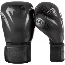 Impact Boxing Gloves - Black/Black