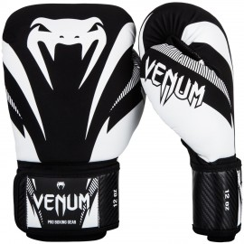 Impact Boxing Gloves - Black/White