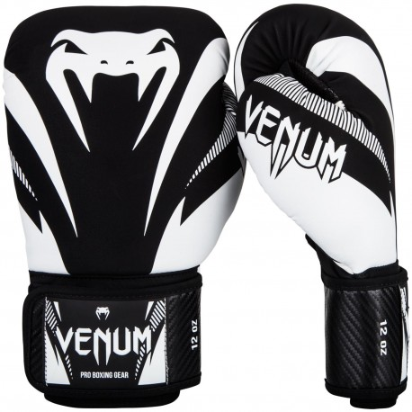 Impact Boxing Gloves - Black/White