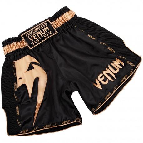 Giant Muay Thai Shorts - Black/Gold