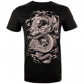 Dragon's Flight T-Shirt - Black/Sand