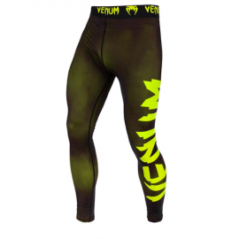Giant Spats-Black/Neo Yellow