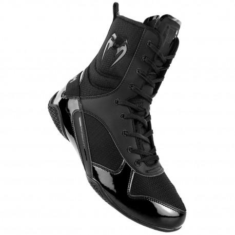 Elite Boxing Shoes - Black/Black