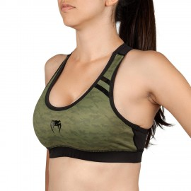 Power 2.0 Sports Bra - Khaki/Black