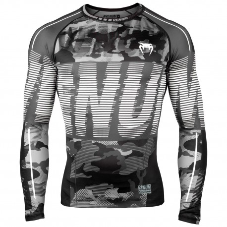 Tactical Rashguard Longsleeves - Urban Camo/Black