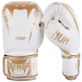 Giant 3.0 Boxing Gloves - White/Gold