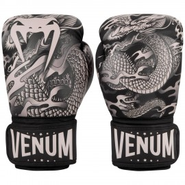 Dragon's Flight Boxing Gloves - Black/Sand