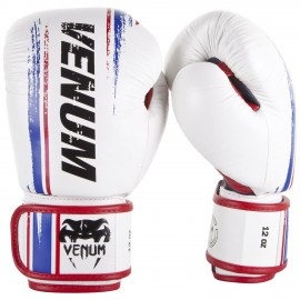 Bangkok Spirit Boxing Gloves (Nappa Leather) - White