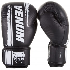 Bangkok Spirit Boxing Gloves (Nappa Leather) - Black
