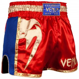 Giant Muay Thai Shorts - Red/Gold