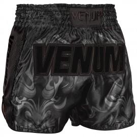 Devil Muay Thai Shorts - Black/Black