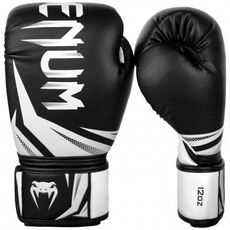Challenger 3.0 Boxing Gloves - Black/White
