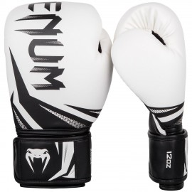 Challenger 3.0 Boxing Gloves - White/Black