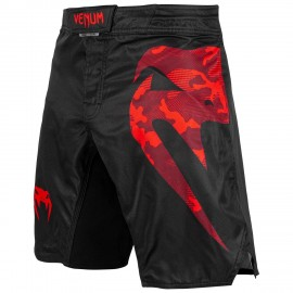 Light 3.0 Fight Shorts - Black/Red