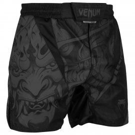 Devil Fightshorts - Black/Black