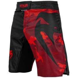 Light 3.0 Fight Shorts - Red/Black