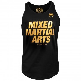 MMA VT Tank Top- Black/Gold
