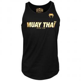 Muay Thai VT Tank Top-Black/Gold