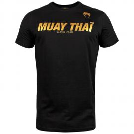 Muay Thai VT T-Shirt - Black/Gold