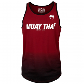Muay Thai VT Tank Top-Redwine