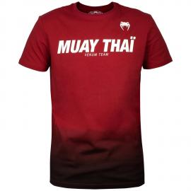 Muay Thai VT T-Shirt - Redwine