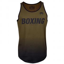 Boxing VT Tank Top-Khaki/Black