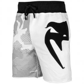 Assault Cotton Shorts - White/Black