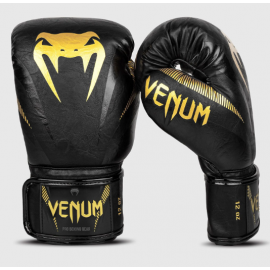 Impact Boxing Gloves - Black/Gold