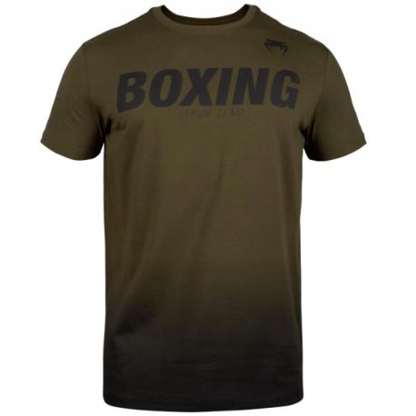 Boxing VT TShirt-Khaki/Black