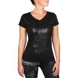 Santa Muerter 3.0 T-Shirt - Black/Black