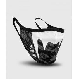 Giant Face Mask-Black/Dark Camo