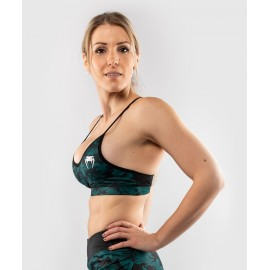 Defender Sports Bra - Black/Green